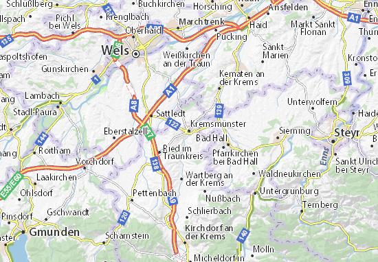 Kremsmünster Map
