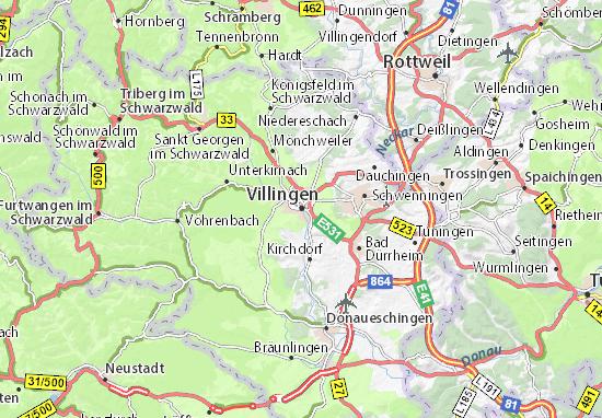 Mappe-Piantine Villingen