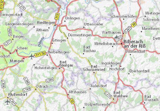 Mapa Plano Kappel