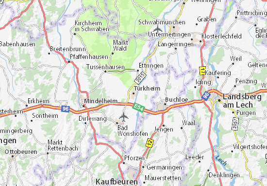 Türkheim Map