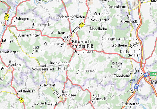 Ummendorf Map