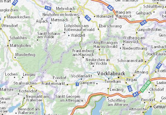 Mapas-Planos Frankenburg am Hausruck