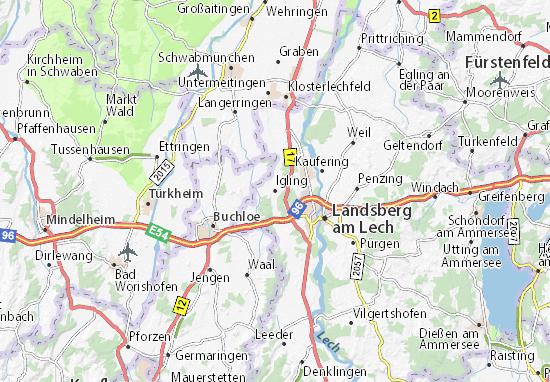 Igling Map