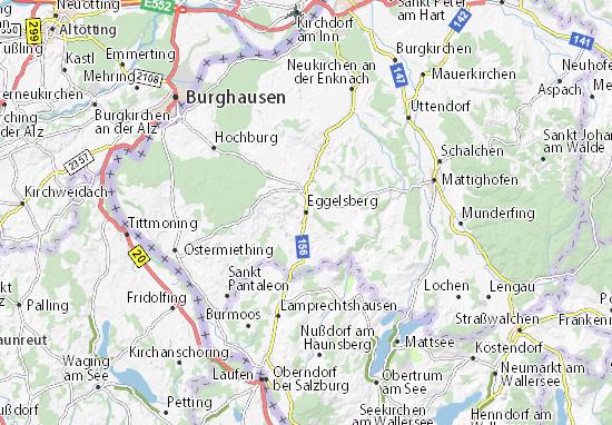 Carte-Plan Eggelsberg