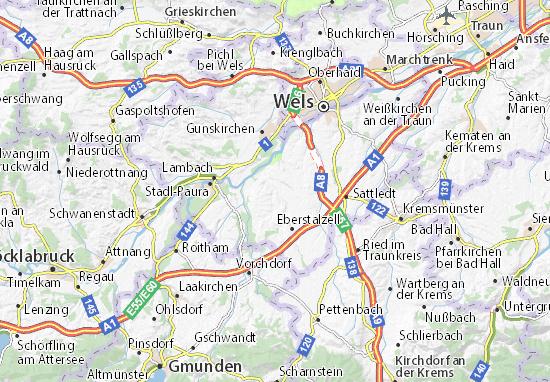 Mapas-Planos Steinerkirchen an der Traun