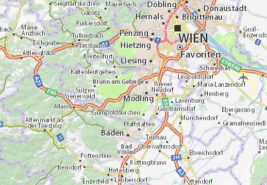Mapas-Planos Hinterbrühl