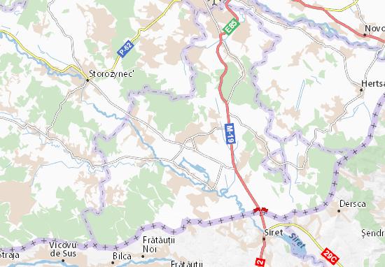 Carte-Plan Hlyboka