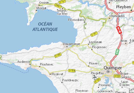 Douarnenez Map