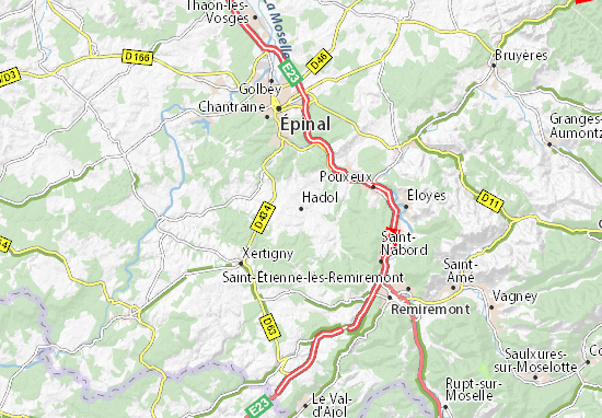 Hadol Map