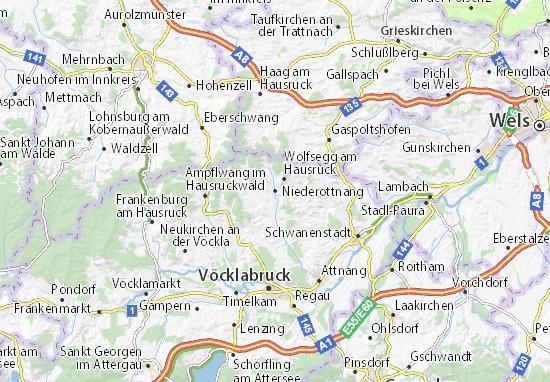 Kaart Plattegrond Niederottnang