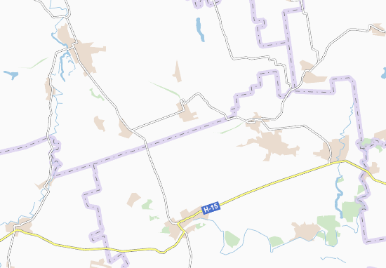 Carte-Plan Petrykiv