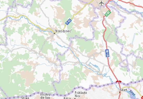 Yordaneshty Map