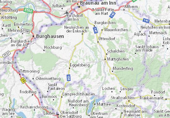Karte Bamberg.Karte Stadtplan Bamberg Viamichelin