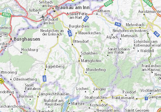 Schalchen Map