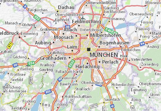 Detailed Map Of Sendling Sendling Map Viamichelin
