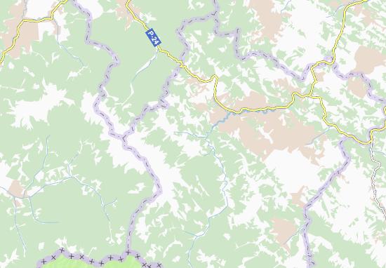 Kaart Plattegrond Bystrets'