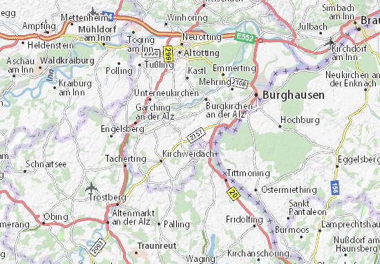 Karte, Stadtplan Birnbaum - ViaMichelin