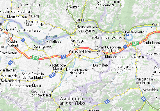 Mapas-Planos Amstetten