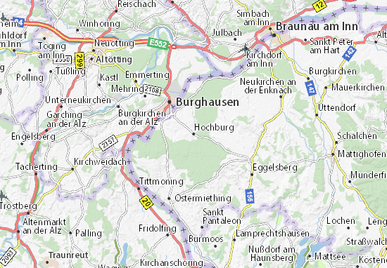 Carte-Plan Hochburg