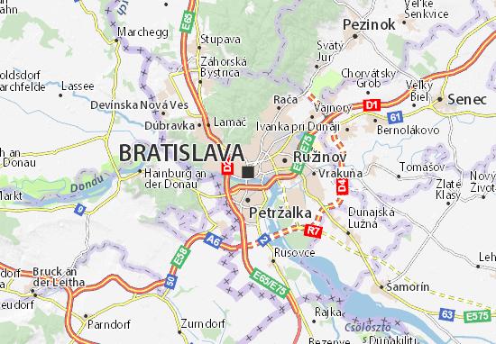 Mapas-Planos Bratislava
