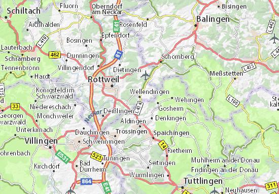 Mappe-Piantine Wellendingen