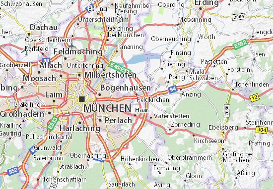 Karte Stadtplan Feldkirchen