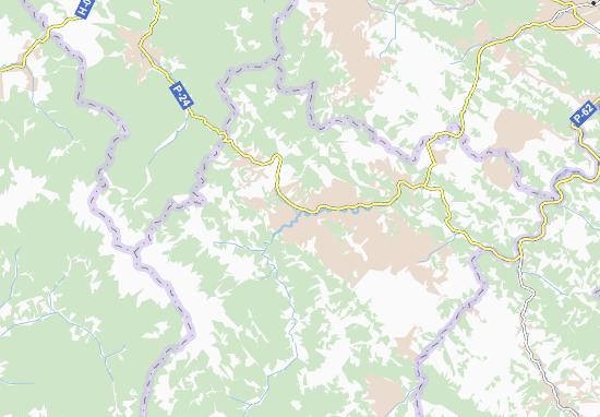 Kaart Plattegrond Il'tsi
