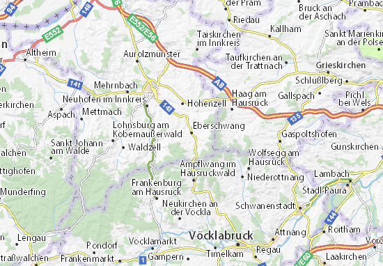 Mapas-Planos Eberschwang
