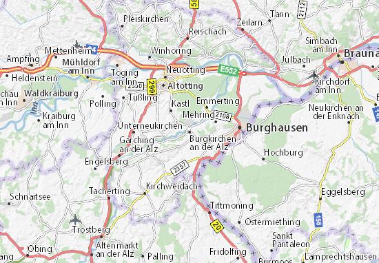 Mapas-Planos Burgkirchen an der Alz