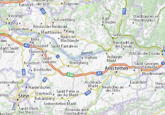 Mapas-Planos Wallsee