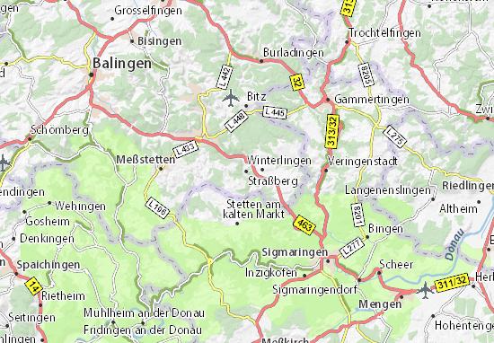 Carte-Plan Straßberg