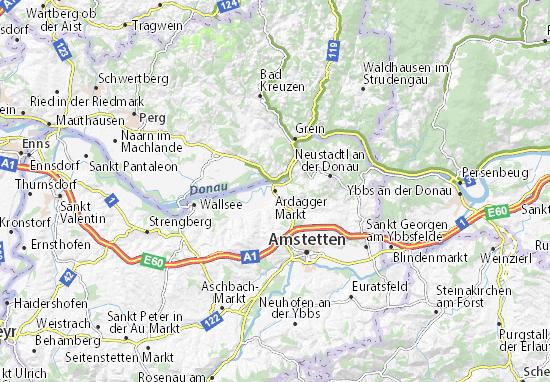 Mapas-Planos Ardagger Markt