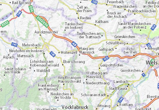 Mapas-Planos Haag am Hausruck
