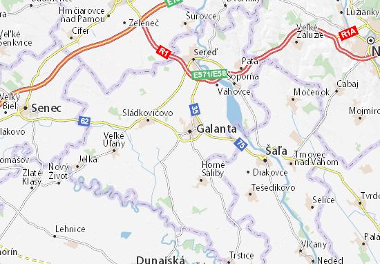 Mappe-Piantine Galanta