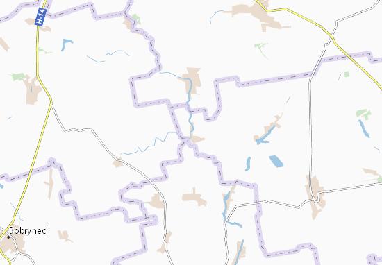 Mappe-Piantine Lavrivka