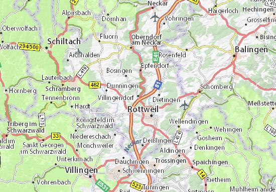 Mappe-Piantine Villingendorf
