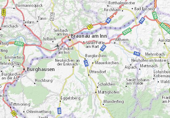 Mapas-Planos Burgkirchen