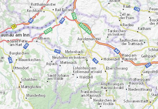 Carte-Plan Mehrnbach