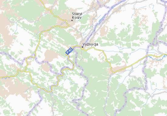 Mapas-Planos Vyzhenka