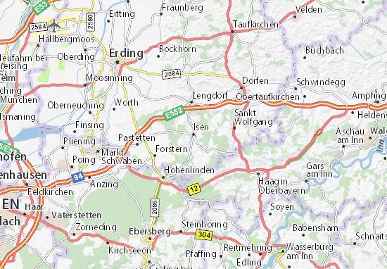 Isen Map