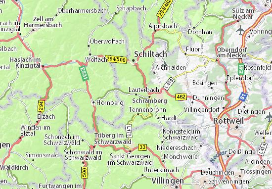 Carte-Plan Lauterbach