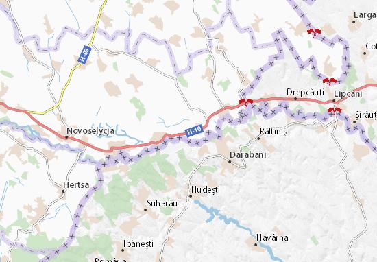 Kostychany Map