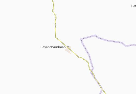 Mapas-Planos Bayanchandmani