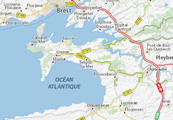 Mappe-Piantine Telgruc-sur-Mer