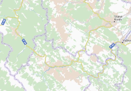 Kaart Plattegrond Snidavka
