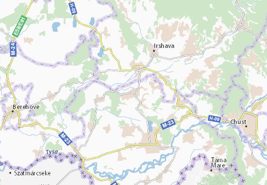 Velyki Kom'yaty Map