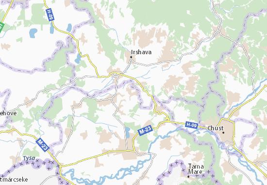 Borzhavs'ke Map