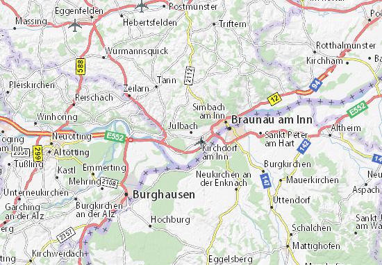 Mapas-Planos Julbach