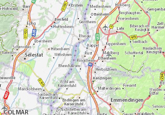 Europa Park Karte.Karte Stadtplan Europa Park Viamichelin