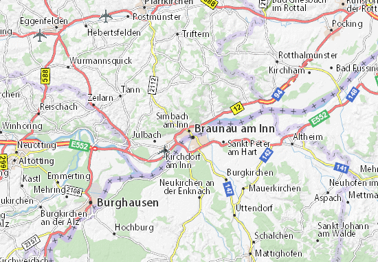 Simbach am Inn Map